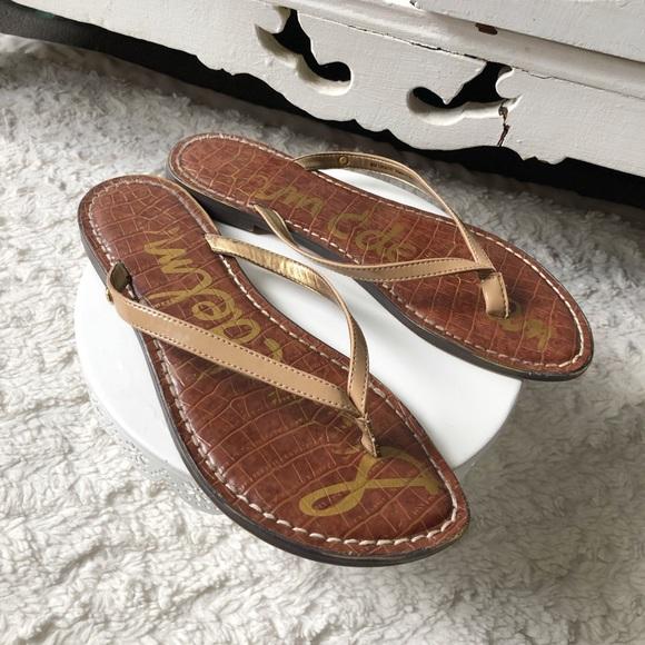 859bc876ffe Sam Edelman Gracie Flip Flop Sandals. M 5cb0c2b608d2c25fb9ce4d85